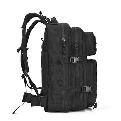 กระเป๋าเดินป่า ZEHUI YW-MB01 ด้านข้าง