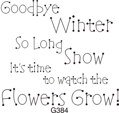 She Left Her Mind Behind: Goodbye Winter, Hello Spring
