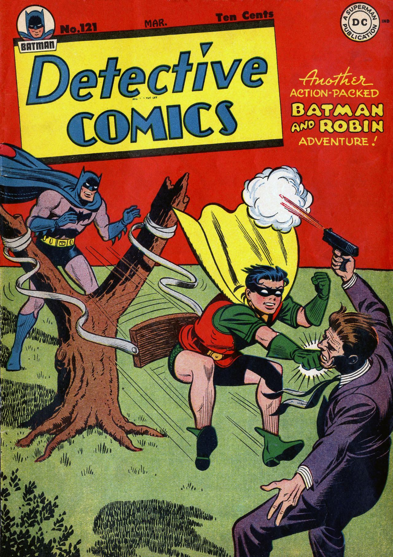 Detective Comics (1937) 121 Page 0