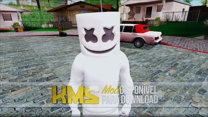 GTA SA - Skin do Marshmello