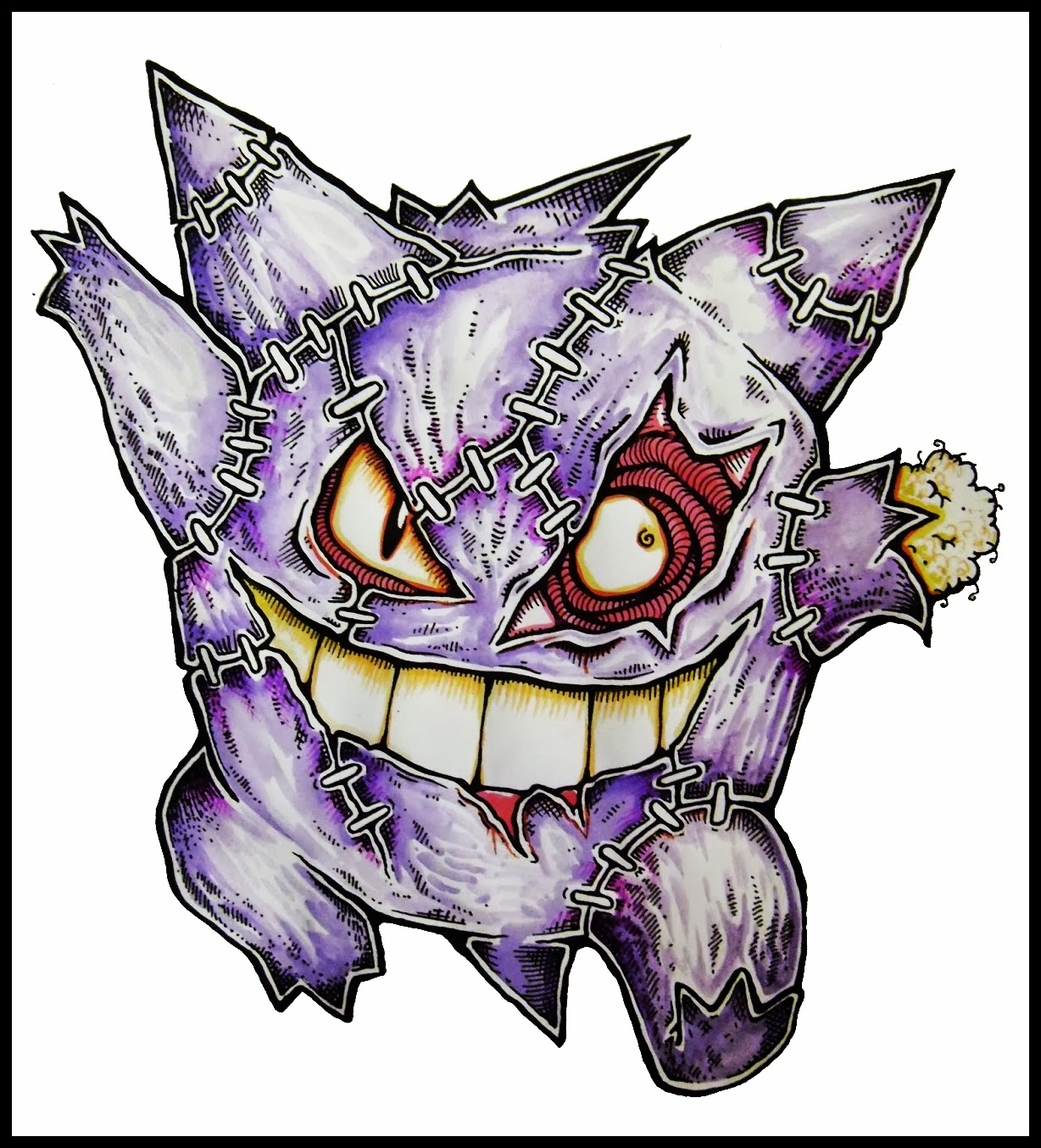 New Zombie Pokemon Drawings Daryl Hobson Artwork
