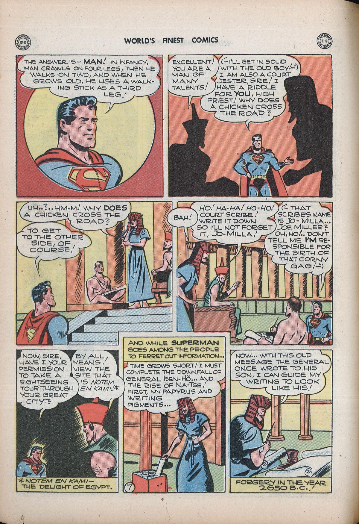 Read online World's Finest Comics comic -  Issue #32 - 66