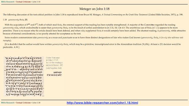 http://www.bible-researcher.com/john1.18.html John 1:18,