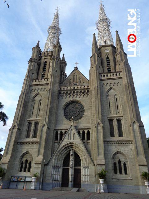 Halobung SudutSudut Menarik di Gereja Katedral Jakarta