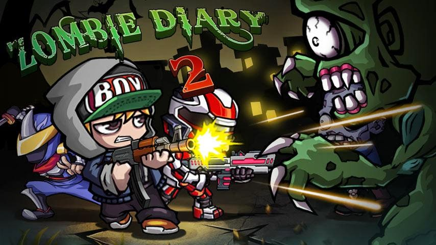Zombie Diary 2: Evolution for Android (MOD) Latest version Free Download