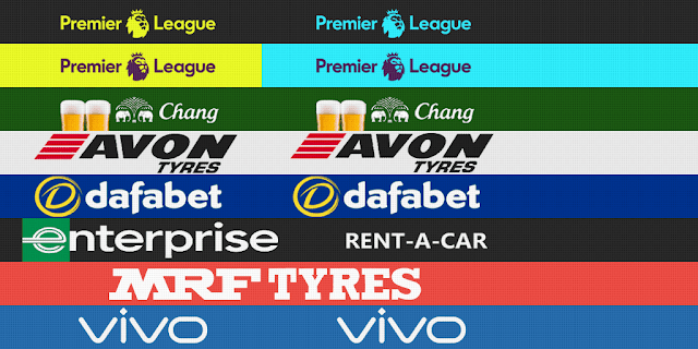 PES 2013 Everton, Sunderland, Stoke City, West Ham Adboards for GDB by m4rcelo