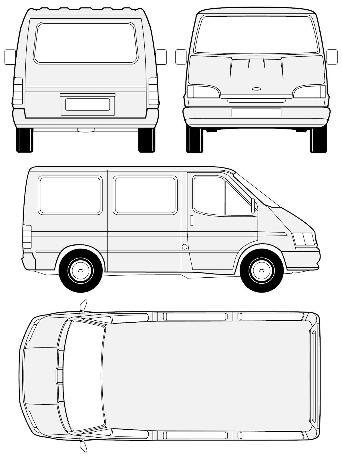 Red Car Van