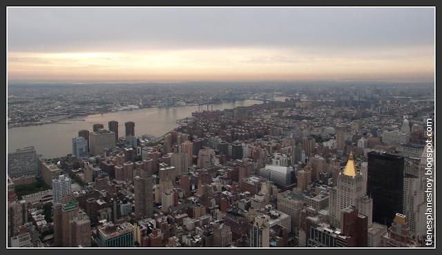 Vistas desde el Empire State