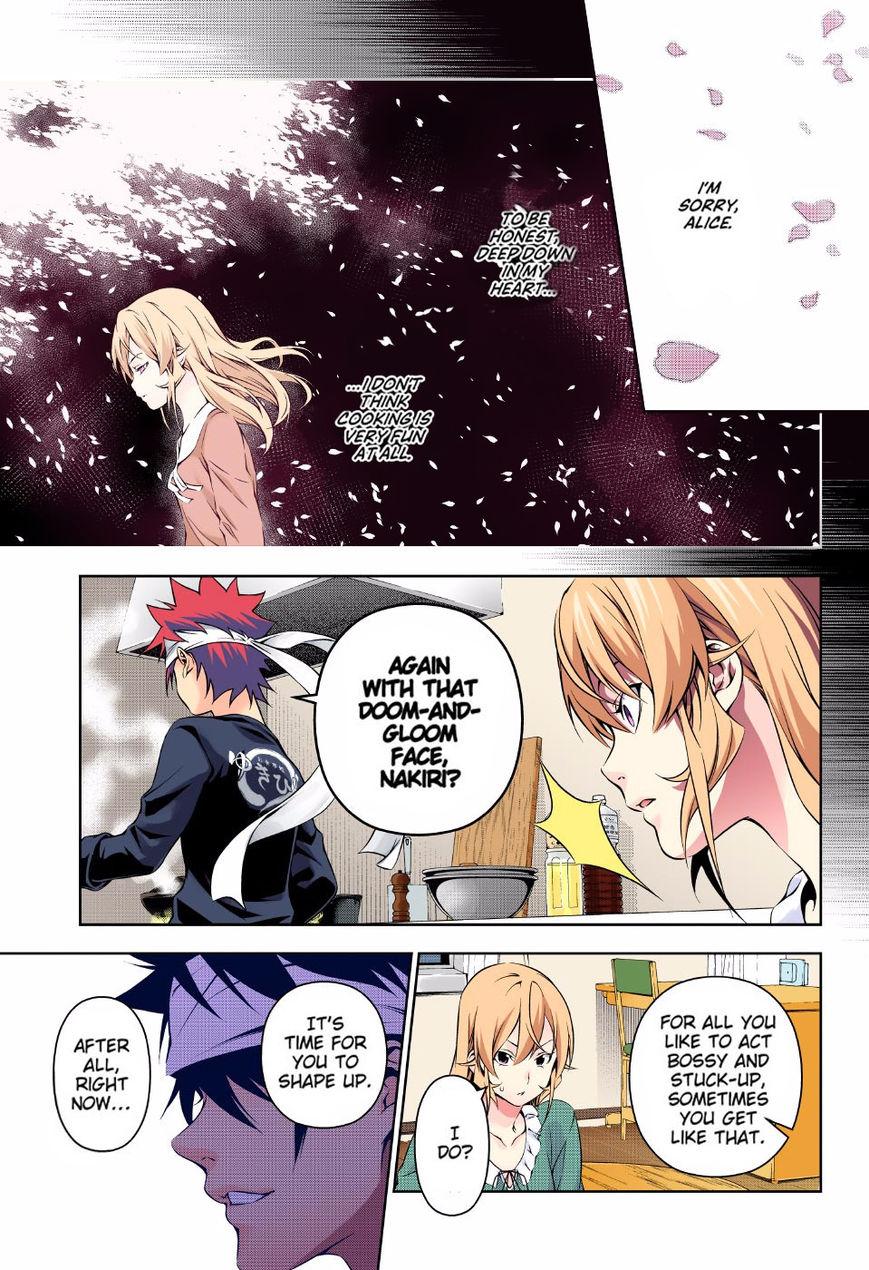 Shokugeki no Soma - Chapter 222