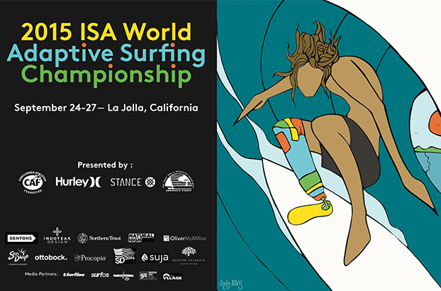 2015 ISA World Adaptive Surfing Championship Presented By CAF Hurley Stance City of San Diego