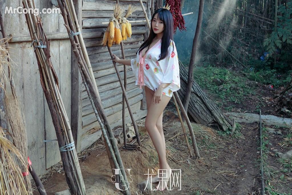 Image UGIRLS-U318-He-Jia-Ying-MrCong.com-064 in post UGIRLS U318: Người mẫu He Jia Ying (何嘉颖) (66 ảnh)