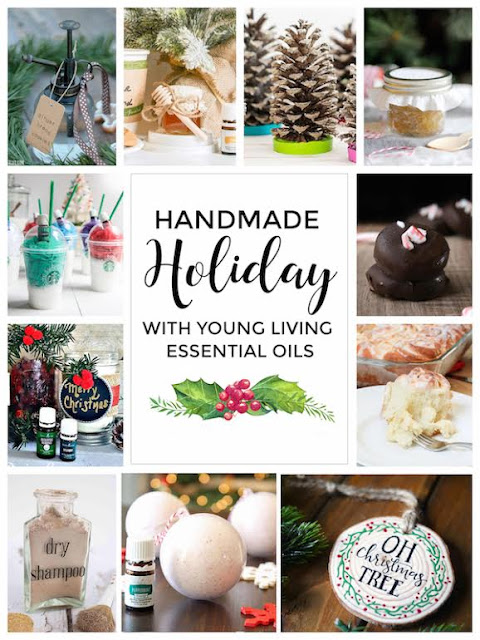 Handmade Holiday with Young Living Essential Oils