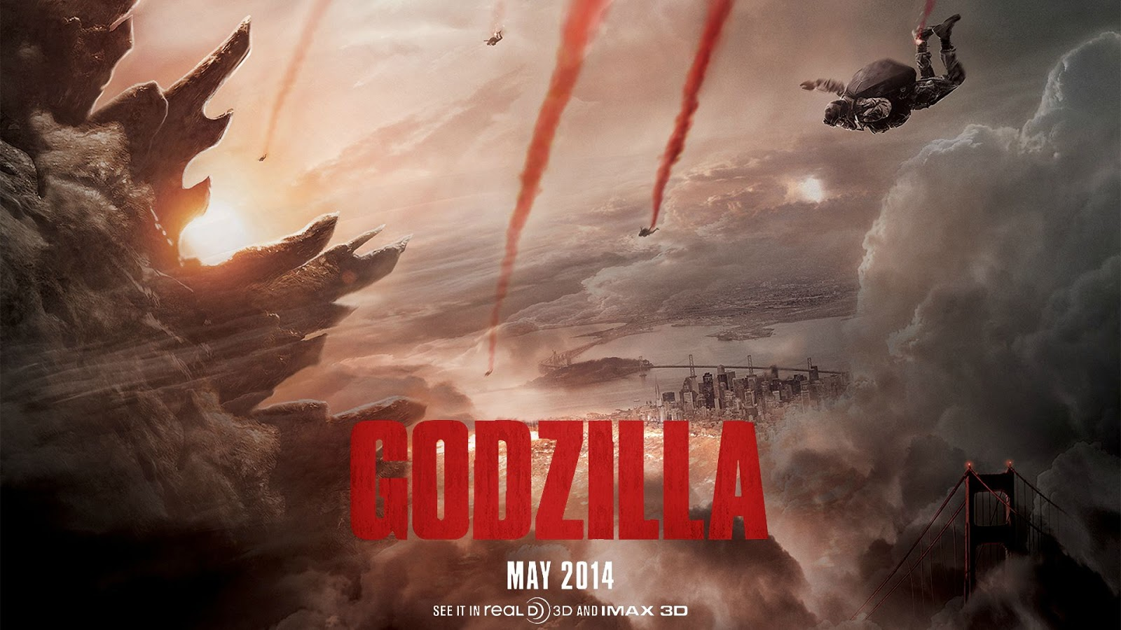 Download Godzilla (2014) BluRay 720p Subtitle Indonesia