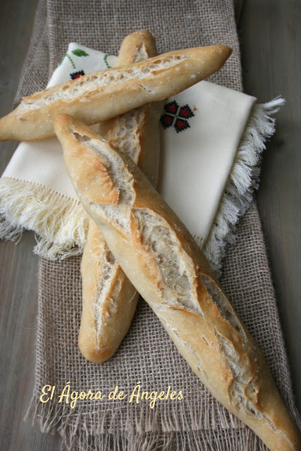 pan con fermentación retardada en frío