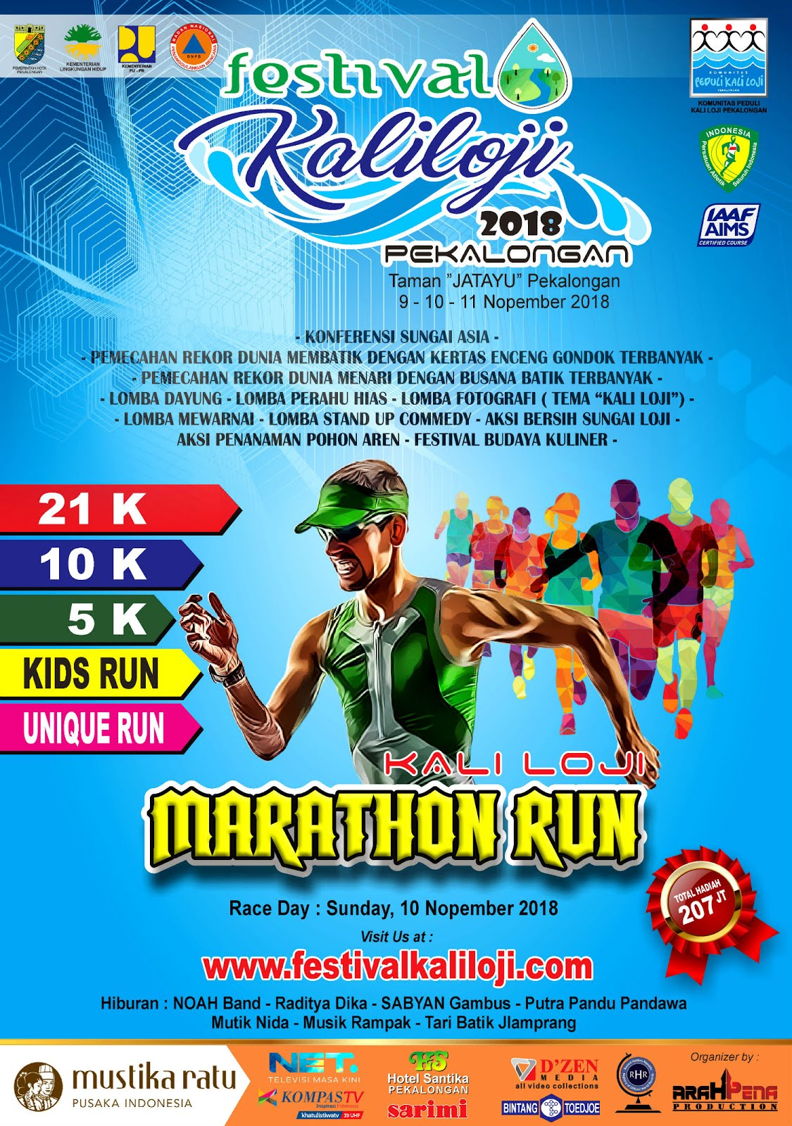 Kaliloji Marathon Run • 2018