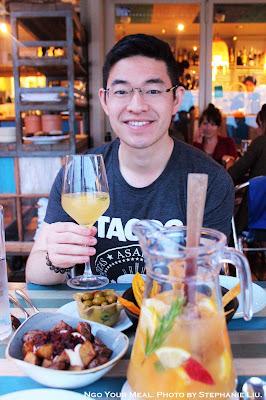 Jon at Xiringuito Escribà in Barcelona