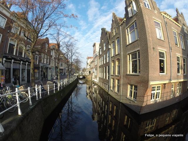 Delft - porcelana, canais e arquitetura típica na cidade mais romântica da Holanda