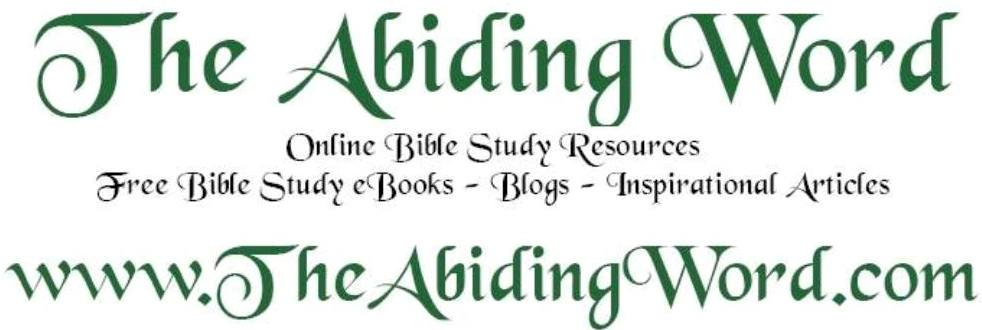 THE ABIDING WORD