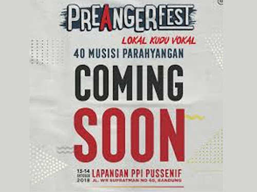 Preanger Fest Oktober 2018