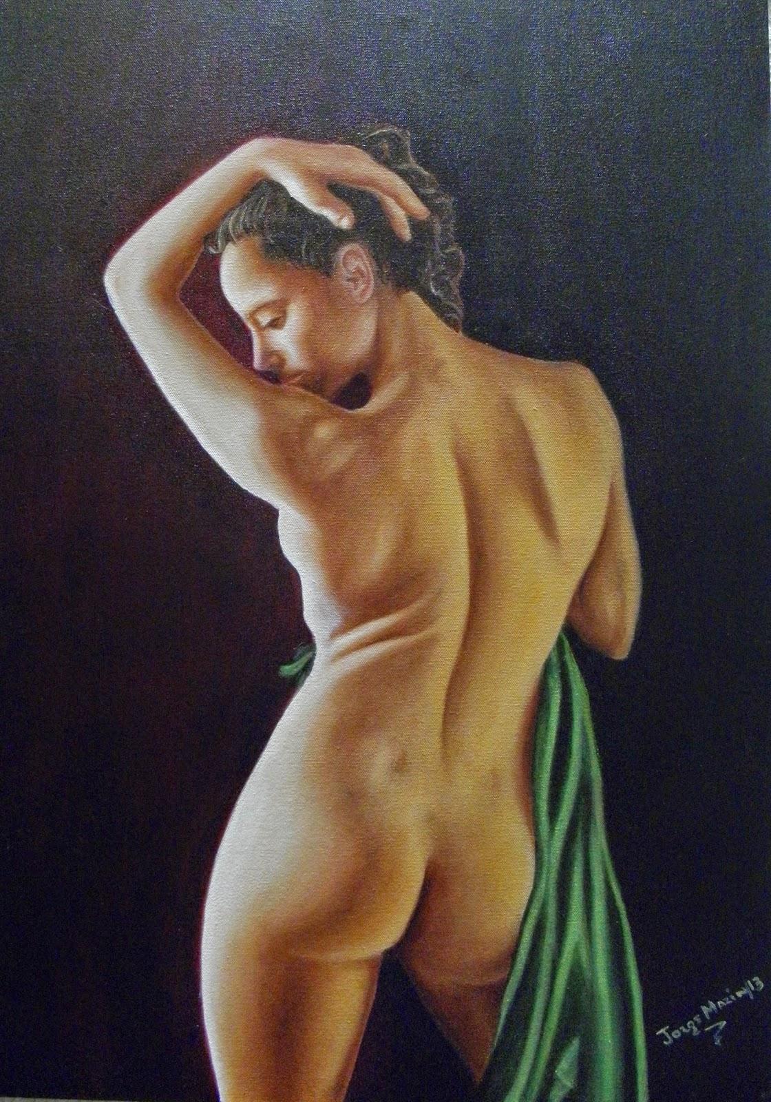 Pintura realista, Bárbara por Jorge Marín