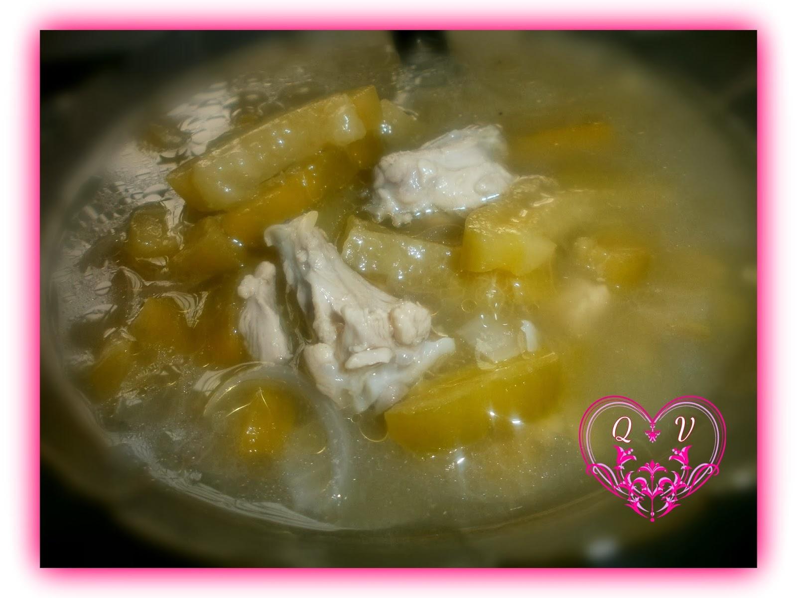 Sup Peria Bersama Ayam