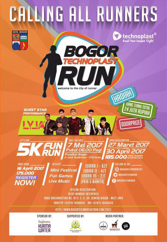 Bogor Technoplast Run • 2017
