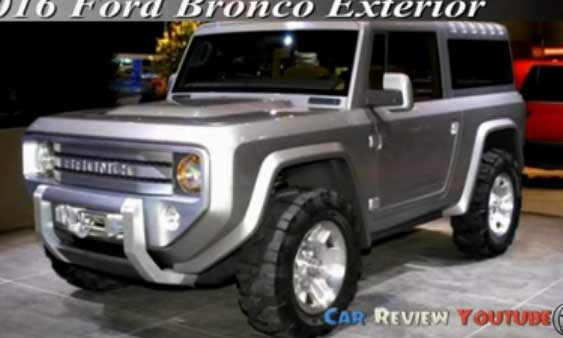2018 Ford Bronco return at the Michigan Assembly Plant