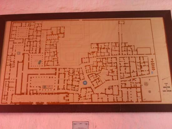 Plano del convento de Santa Catalina