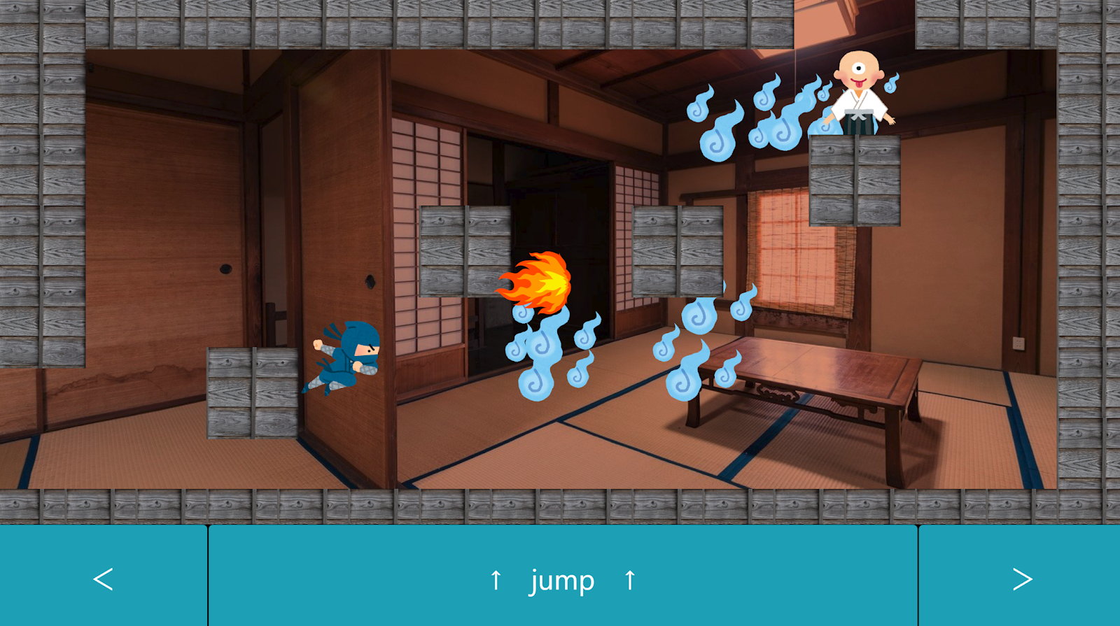 lingual ninja game - Castle of The Maze