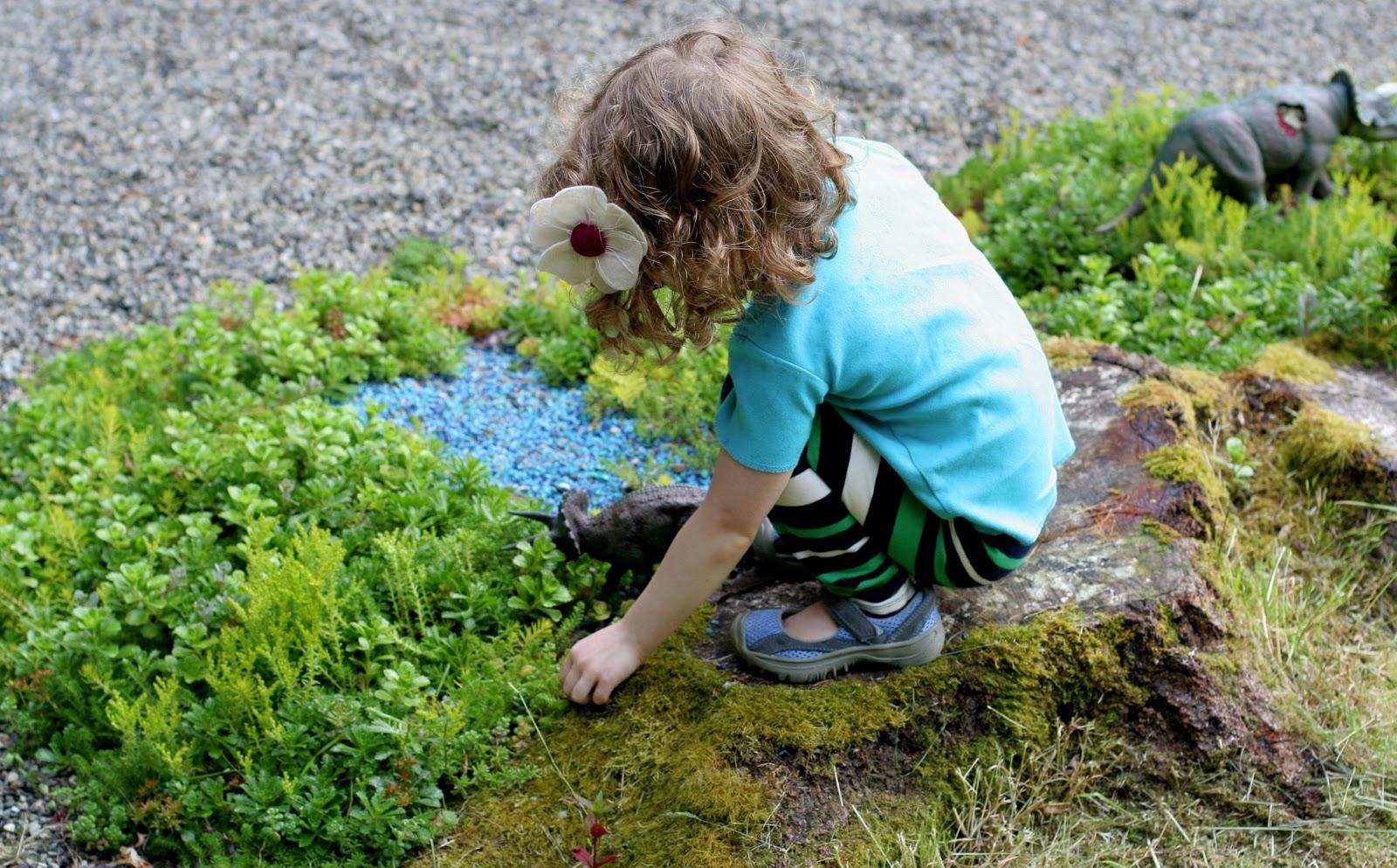 Not A Fairy Garden A Dinosaur Garden