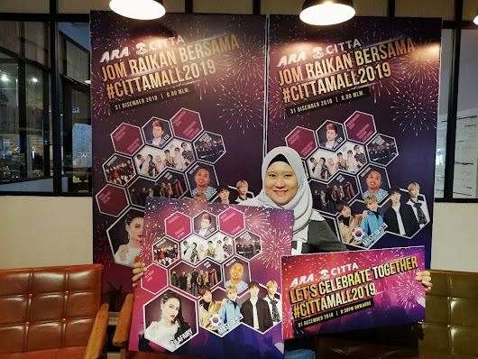 JOM CELEBRATE NEW YEAR 2019 DI CITTA MALL #CITTAMALL2019 - Azlinda Alin Malaysian Parenting Lifestyle Beauty Blogs