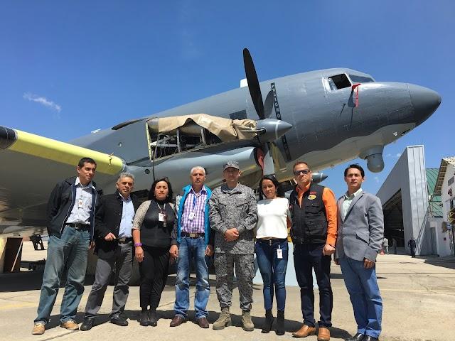 Medios de comunicación de la Sabana de Occidente se reúnen en la Base Aérea de Madrid