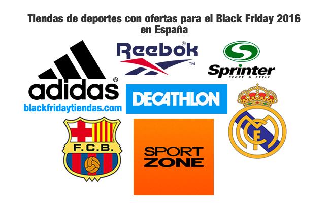 Tiendas de deportes con ofertas para el Black Friday 2016 en España