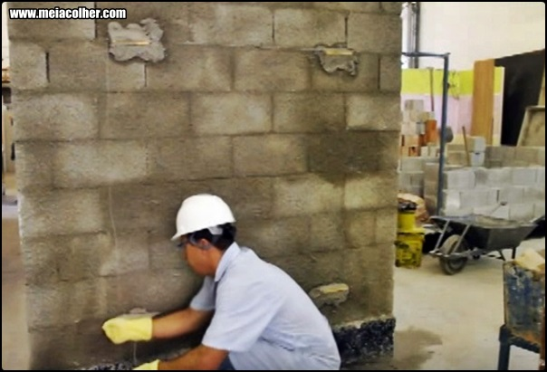 parede chapiscada