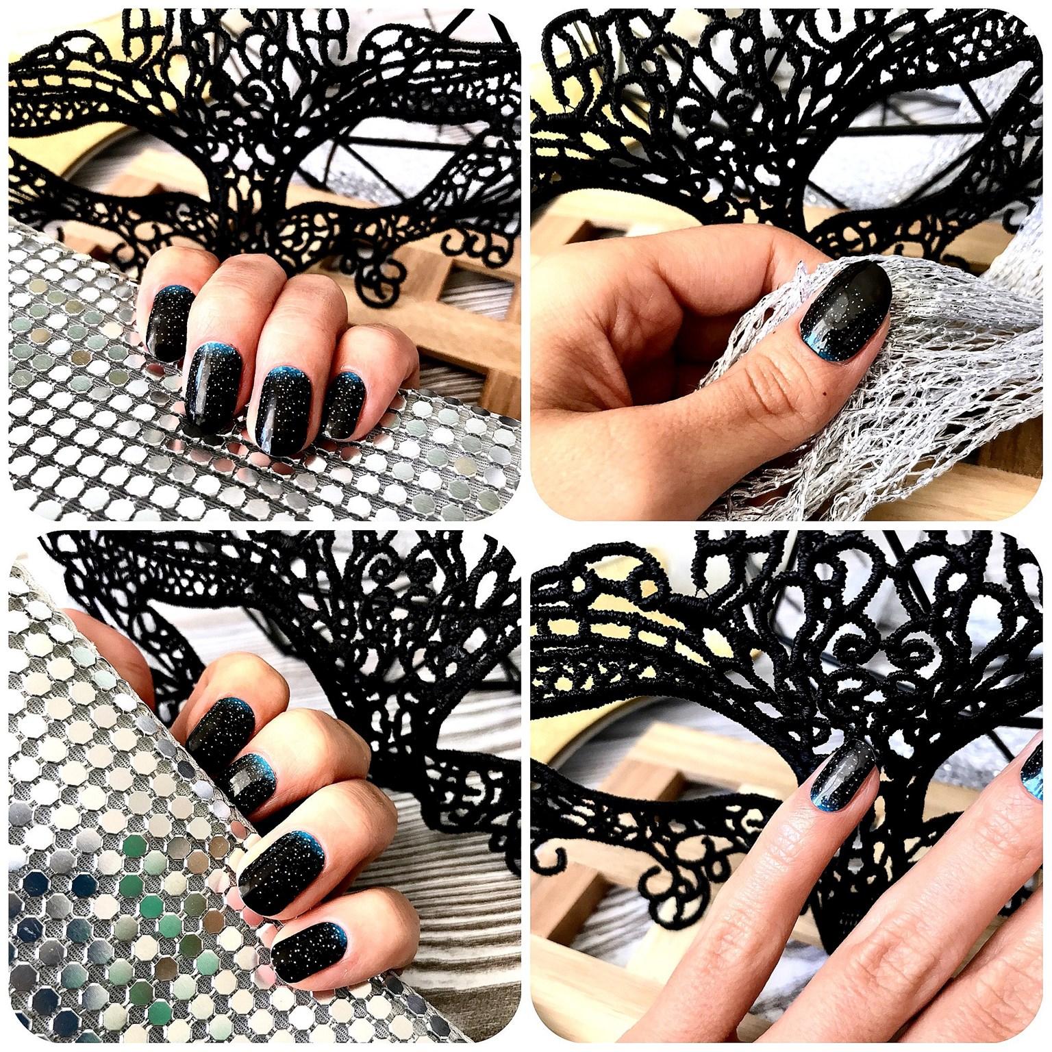 zdjęcie przedstawiające wzór Manirouge Gradiente na paznokciach