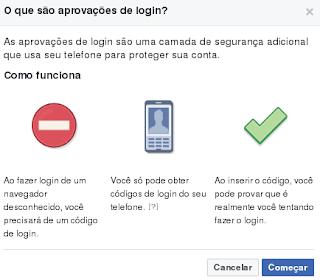 Configuração e ativação do código Facebook