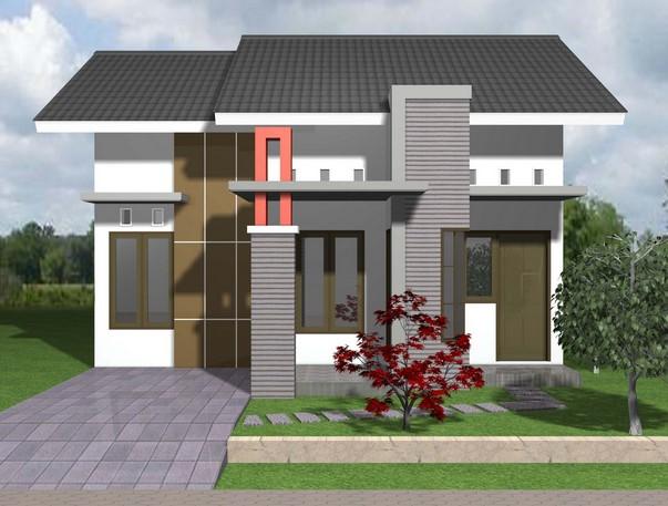 Gambar Teras Rumah Minimalis type 45