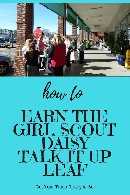 How to Earn the Daisy Girl Scout Talk It Up Leaf-A Complete Meeting Plan