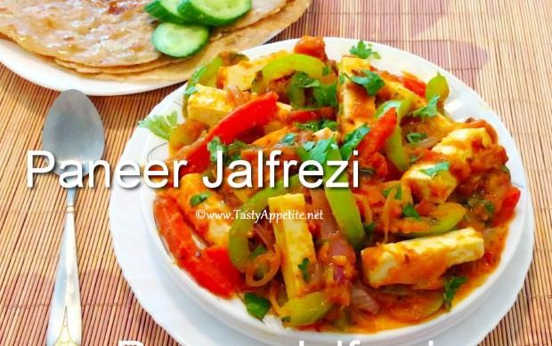 paneer jalfrezi recipe
