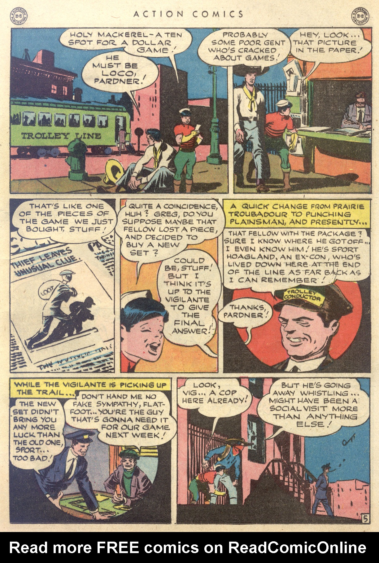Read online Action Comics (1938) comic -  Issue #88 - 35