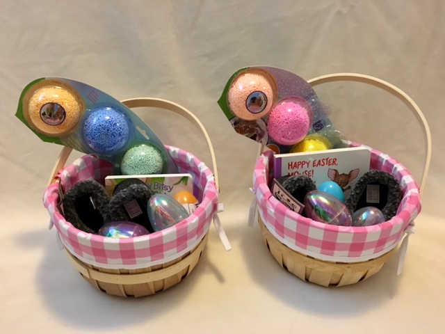 twin Easter baskets