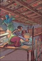 Esta era la manera de colocar los socarrats en el techo de las casas