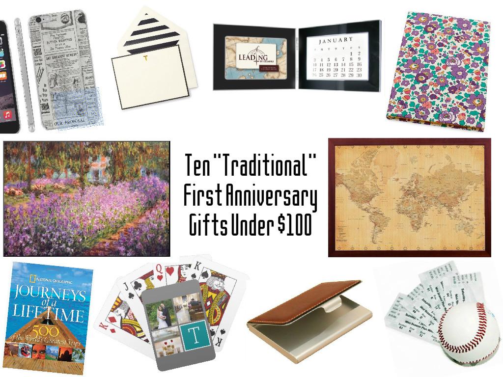 Paper Anniversary Gift Ideas: Borrowed Heaven: First Anniversary Gift: Paper (For $100