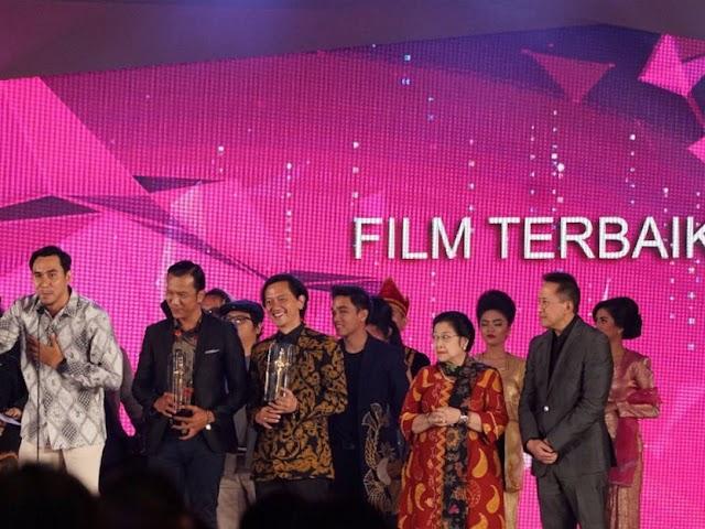 Inilah Daftar Pemenang Festival Film Indonesia 2017