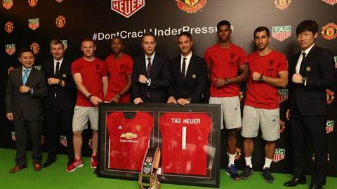 TAG Heuer, nuevo patrocinador del United