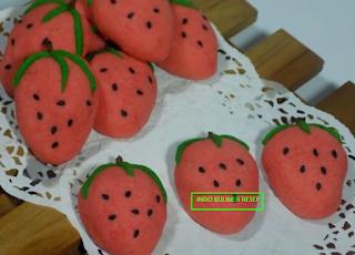 Resep Cara Membuat Kue Nastar Strawberry