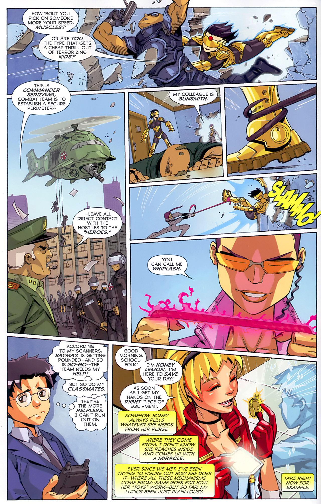 Big Hero Comic comic big hero 6 (2008) issue 1