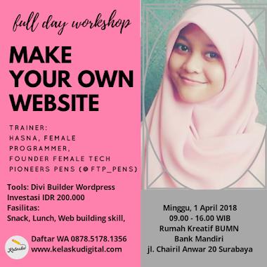 Kelas Website 1 April 2018