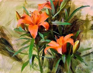 ümran Giz Galeri Yağli Boya çiçek Tablolari