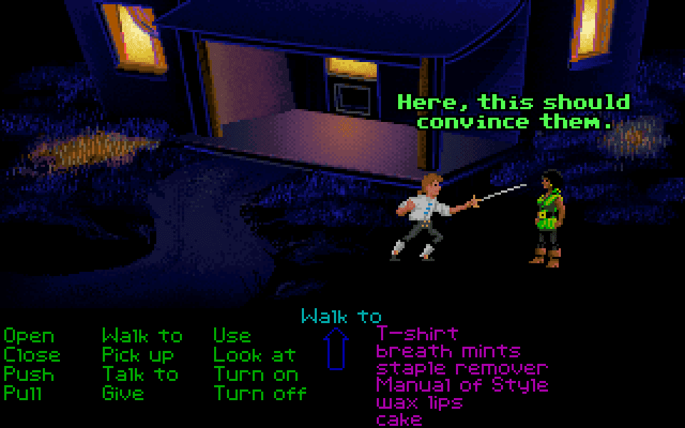 secret of monkey island how to get all insults